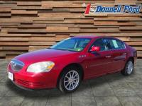 Recent Arrival! CARFAX One-Owner. Red 2008 Buick
