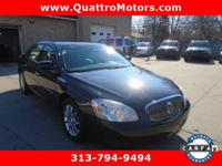 Leather seats. Check out this 2008 Buick Lucerne CXL.