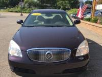 Options:  2008 Buick Lucerne Cxl|Purple|Clean Carfax.