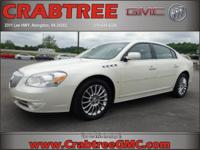 Options:  2008 Buick Lucerne Super|Super 4Dr