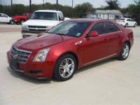 Bodystyle: 2008 Cadillac CTS 4 door luxury sedan,