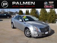 Light Platinum 2008 Cadillac CTS 1SB AWD 6-Speed