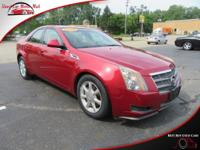 TECHNOLOGY FEATURES:  This Cadillac CTS Includes