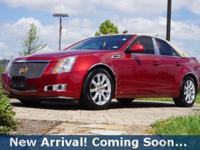 2008 Cadillac CTS 3.6L V6 in Crystal Red Tintcoat, This