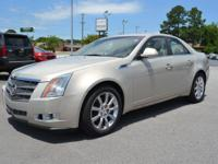 LOW MILES, This 2008 Cadillac CTS 3.6L V6 will sell