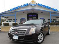 This 2008 Cadillac CTS RWD has an effective V6, 3.6 L;