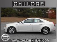 Only 65K miles on this beautiful 2008 Cadillac CTS
