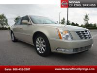 This Cadillac DTS is a Local Trade with Clean Carfax