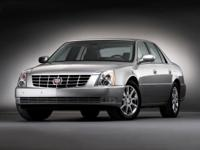 27/17 Highway/City MPG  Cadillac 2008 White  Options: