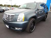 Escalade trim. 3rd Row Seat, DVD Entertainment System,