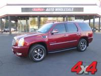 Solid and stately, this 2008 Cadillac Escalade banished