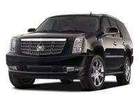 Options:  2008 Cadillac Escalade Awd|Black