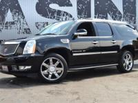 This 2008 Cadillac Escalade ESV 4dr ESV features a 6.2L