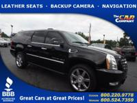 Used 2008 Cadillac Escalade ESV, DESIRABLE FEATURES: a