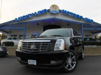 2008 Cadillac Escalade EXT 4WD with effective V8, 6.2 L