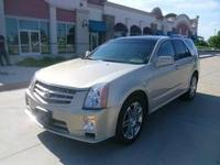 2008 SRX AWD.GOLD ON TAN LEATHER INTR.ALL POWER.FULLY