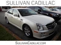 2008 Cadillac STS V6 CARFAX One-Owner. Clean CARFAX.