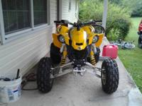 2008 Can Am DS 450 EFI I have a 2008 Can Am for sale or