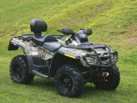 2008 CAN AM OUTLANDER MAX XT 731 ORIGINAL MILES COMES