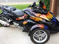 2008 Cam Am Spyder GS. 2008 Can Am Spyder GS. Well