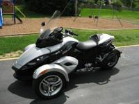 .....Excellent Condition 2008 Can Am Spyder GS SM5,