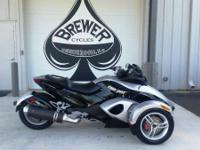 2008 Can-Am Spyder GS (SM5) GREAT BIKE!!! DOES HAVE