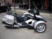 Each 2008 Can-Am Spyder GS has a four-stroke