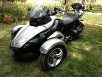 2008 Can-Am Spyder SM-5 in very good condition. 9770