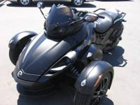 Less than 9,500 miles on this 2008 Can-Am Spyder SM5.