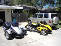 WE ARE SELLING OUR TWO 2008 SPYDER GS THAT WE BOUGHT