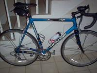 This bike is a great road bike. It has a 58cm frame and
