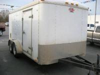 HARD TO FIND 7X14 ENCLOSED UTILITY TRAILER. TOO MANY