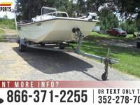 2008 Carolina Skiff 1780. Outside Color: White. VIN: