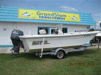 THIS IS A 2008 CAROLINA SKIFF 198 DLV SKIFF THAT IS