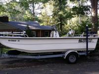 2008 Carolina Skiff 198DLX (flat bottom skiff), 2008