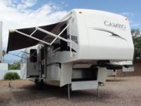 2008 Carriage Cameo 37RE3 5th Wheel 3 Slides, All