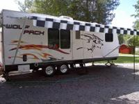 2008 Cherokee Wolf Pack Toy Hauler. Camper is really