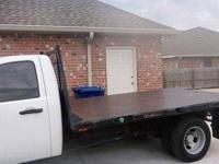 2008 CHEVROLET 3500HD 12 foot Flat bed ,and set up for