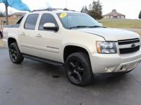This 2008 Chevrolet Avalanche 1500 LT in Gold Mist