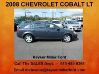 COME AND GET IT! This 2008 CHEVROLET COBALT LT is