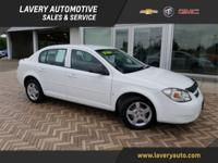 2008 Chevrolet Cobalt LS in Summit White, One-Owner