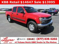 1-Owner New Vehicle Trade! LT 3.7 Crew Cab 4x4. Z71,
