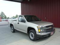 Options Included: N/A2008 COLORADO REG CAB 2WD W/T, 2.9