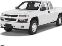 2008 Chevrolet Colorado Work Truck For