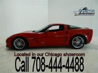 2008 Chevrolet Corvette Z06 with 4,100 actual miles and
