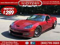 This Lovely Red 2008 Chevrolt Corvette Coupe Comes