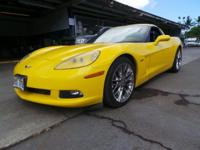 Look at this 2008 Chevrolet Corvette . Its Automatic