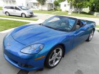 We are offering our low mile corvette convertible and