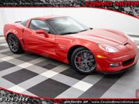 2008 CHEVROLET CORVETTE Z06 ONLY 18K MILES!! SUPER