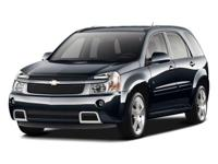 Black 2008 Chevrolet Equinox LS FWD 5-Speed Automatic
